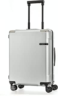 Samsonite Evoa 55Cm Spinner Brushed Silver - Suitcases - Suitcases