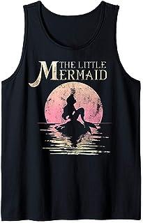 Disney The Little Mermaid Ariel Rock Moon Silhouette Débardeur