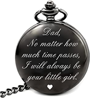 Dad Gifts for Fathers Day Birthday Gifts, Dad No Matter How Much Times Passes I Will Always Be Your Little Girl