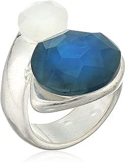 Robert Lee Morris Womens Double Stone Wrap Ring