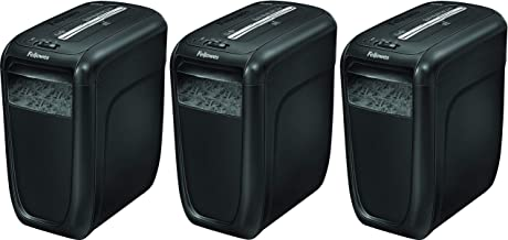 $434 » Fellowes Powershred 60Cs 10-Sheet Cross-Cut Paper and Credit Card Shredder with SafeSense Technology (4606001) (Pack of 3)
