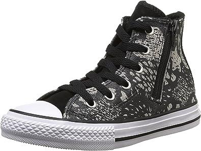 Amazon.com | Converse Junior Chuck Taylor All Star Girls' Glittery ...