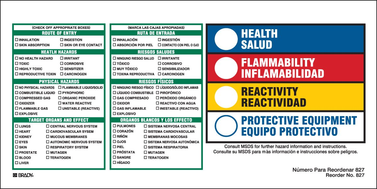 Hazardous Year-end annual account Communication and Right-to-Know Labels Recommended Paper Coated