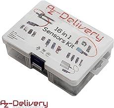 AZDelivery 16 en 1 Kit – Juego de accesorios para Raspberry Pi, Arduino y otros microcontrolador con eBook incluido