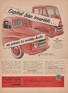 c1effee96 1956 AUSTIN TRUCKS 303 NORMAL 503 FORWARD CONTROL