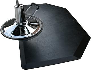 Rhino Mats CCL35SH Comfort Craft Lite Salon Hexagon Mat, 3' Width x 5' Length x 1/2