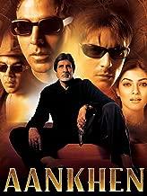 hindi film aankhen video