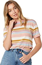 Wrangler Women's Lori Stripe Tee Cotton