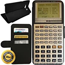 Flip Wallet Case for Galaxy S8 Plus (Scientific Calculator Retro) with Adjustable Stand and 3 Card Holders | Shock Protection | Lightweight | by Innosub