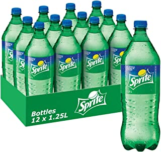 Sprite Lemonade Soft Drink, 12 x 1.25 l