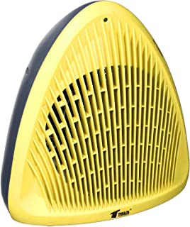 Thulos Termoventilador Calefactor 2000W Estufa electrica de Alta Potencia y diseño Amarillo …, plastico, 23.2 x 16 x 24.2 cm