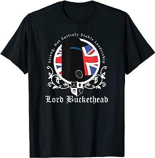 Political Humor Shirts: Lord Buckethead t-shirt