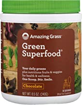 product image for Amazing Grass - Green SuperFood Drink Powder 30 Servings Cacao Chocolate Infusion - 8.5 oz.