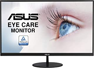 ASUS VL279HE 27-inch Eye Care Monitor, IPS, 75Hz, Adaptive-Sync/FreeSync, Frameless, Slim, Wall Mountable, Flicker Free, B...