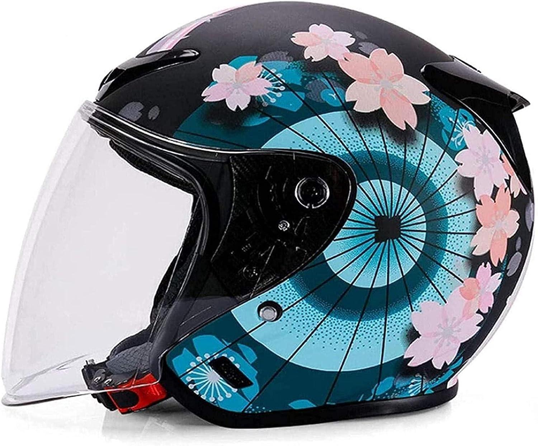 ZHANGYY Vintage Style Open Face Max 70% OFF Helmet Summer Half Men Recommendation Women He