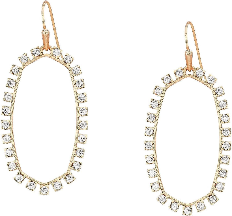 Kendra Scott Elle Open Frame Drop Earrings for Women