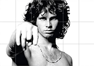 Doppelganger33 LTD Jim Morrison The Doors Huge Size XXXL Wall Art Multi Panel Poster Print 49x69 inches
