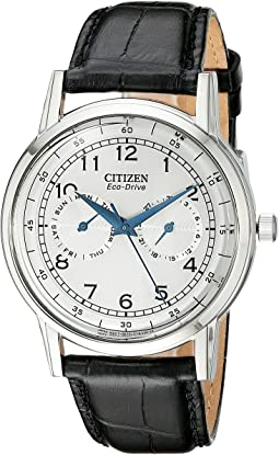 Citizen Watches AO9000-06B Eco-Drive Stainless Steel Day-Date Watch