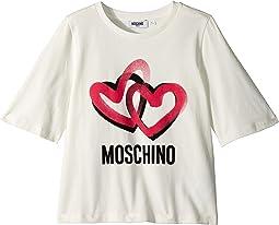 Logo Heart Graphic T-Shirt (Big Kids)