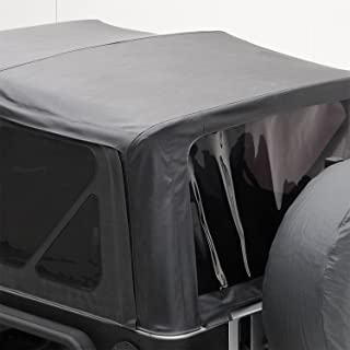 Smittybilt 9070235 Black Diamond Replacement Top with Tinted Side Windows for Jeep JK 2-Door