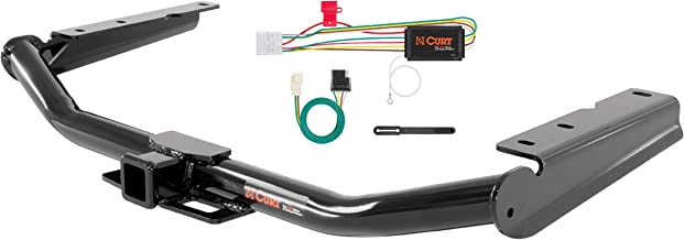 CURT 99309 Class 3 Trailer Hitch, 2-Inch Receiver, 4-Pin Wiring Harness Select Toyota Highlander