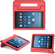 MoKo Case for All-New Amazon Fire HD 8 Tablet (6th/7th/8th Generation, 2016/2017/2018 Release) Kids Shock Proof Convertibl...