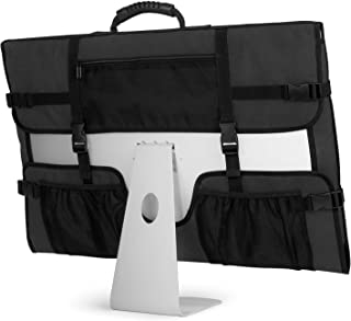 "CURMIO Bolsa para Ordenador iMac, Bolsa iMac 27""de Apple, Funda Protectora para iMac, Funda de Polvo con Manija de Goma pa..."