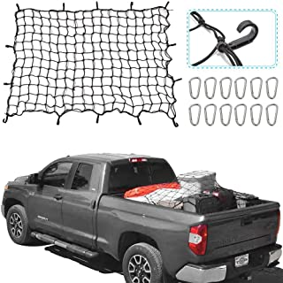 RT-TCZ 5.9'x3.9' Bungee Cargo Net Stretches to 13.6'x8.9',Small 4
