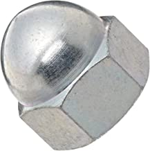 18-8 Stainless Steel Acorn Nut, Right Hand Threads, Meets DIN 1587, M5-0.8 Threads (Pack of 50)