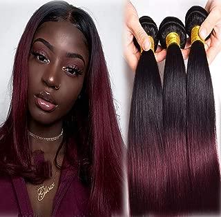 Best burgundy human hair Reviews
