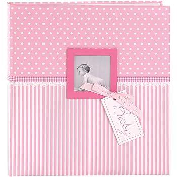 goldbuch Enkelkindalbum Kunstdruck mit UV-Lack Little Mobile 25 x 25 cm 24237 60 wei/ße Blankoseiten mit Pergamin-Trennbl/ättern Beige