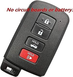 KAWIHEN Keyless Entry Remote Key Fob Shell Case Replacement For Toyota Avalon Camry Corolla RAV4 89904-06140 HYQ14FBA