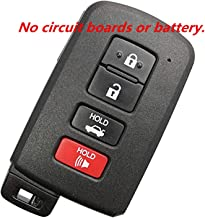 KAWIHEN Keyless Entry Remote Key Fob Shell Case Replacement For Toyota Avalon Camry Corolla RAV4 89904-06140 HYQ14FBA