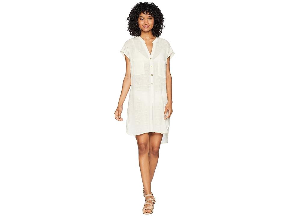 Rip Curl Dream Beam Beach Shirt (Vanilla) Women