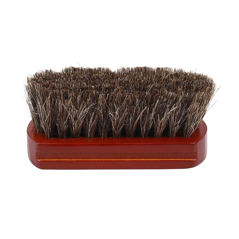 Kaxofang Wood Handle Natural Horse Hair Brush Mustache Quality inspection Fac Save money Beard