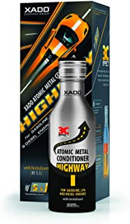 XADO Highway Atomic Metal Conditioner - Engine Oil Additive & Motor Treatment (Bottle, 7.5oz) (Highway)