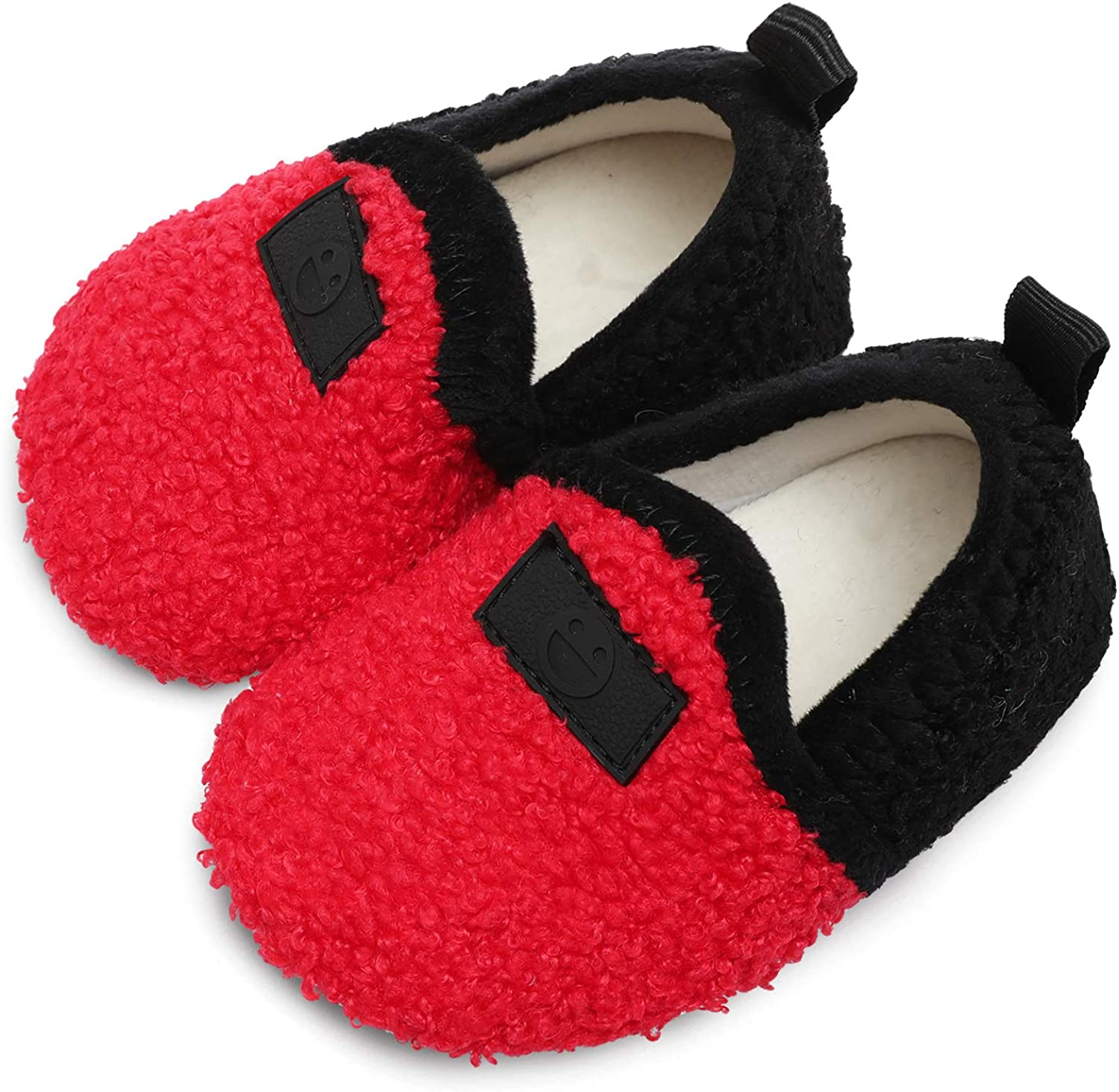L-RUN Toddler Boys Girls House Slippers Indoor New product Home Warm Max 83% OFF Shoes S