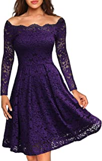 party dresses in purple