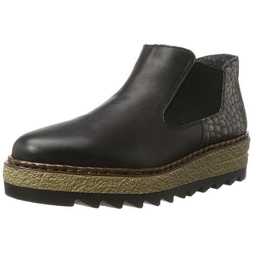 Damen Rieker Leder Schuhe:
