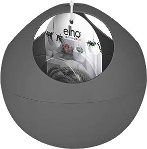 Elho B.for Soft Air - Blumentopf - Anthrazit - Drinnen  - Ø 18 x H 16.1 cm