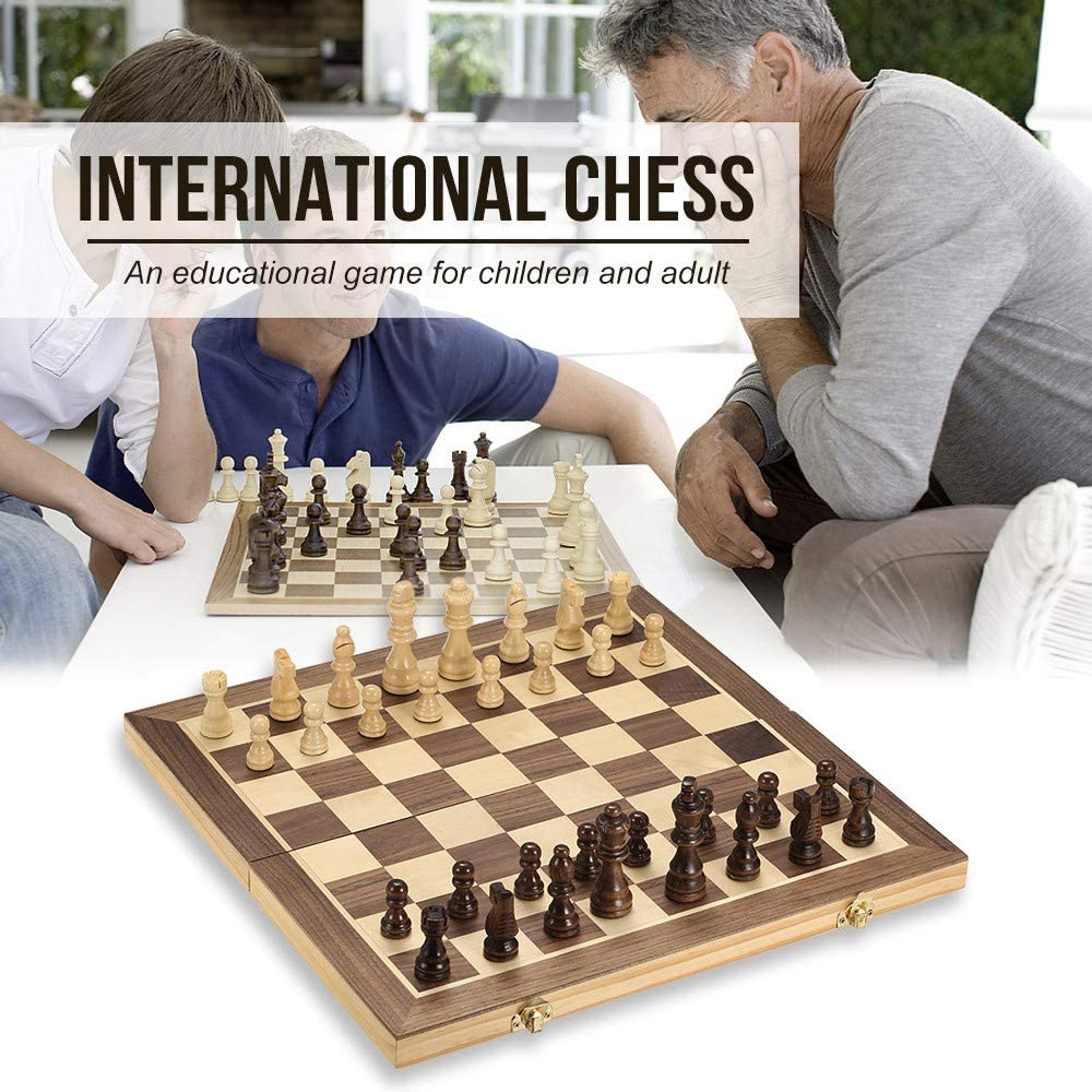 JIASHU Professional Chess outlet Challenge the lowest price of Japan Set Wooden 15.7