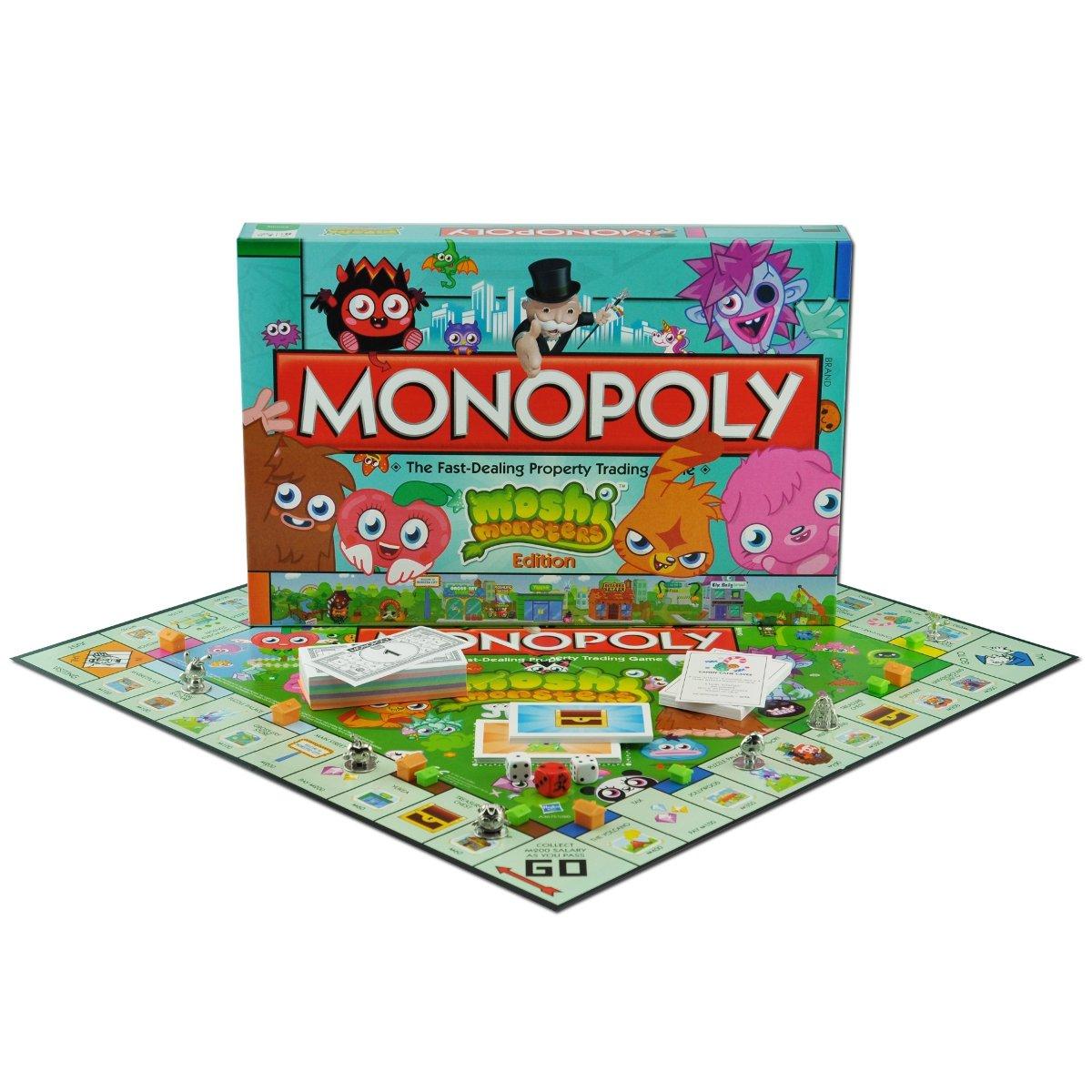 Monopoly - Juego de Tablero Moshi Monsters, 2 o más Jugadores (Winning Moves 19972) (versión en inglés): Amazon.es: Juguetes y juegos