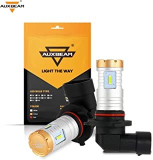Auxbeam 9005 9006 LED Fog Light Bulbs Ice Blue 2400 Lumens 20W 9005/9006 LED Bulb 1860 SMD Chips 12V LED 9005/9006 Bulb Hi...