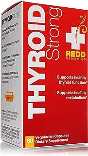 Redd Remedies, Thyroid Strong, Metabolism and Thyroid Formula, 60 Capsules