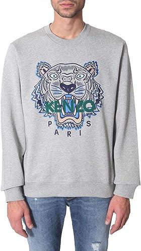 Kenzo Homme F965SW0014XA94 gris Coton Sweatshirt