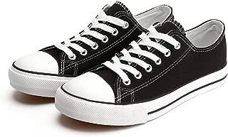 canvas shoes black