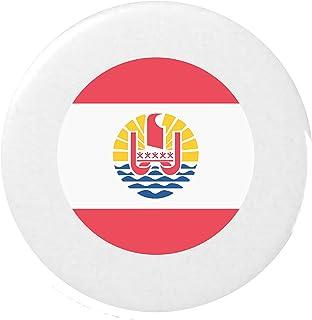 416dbaf26076 bandiera per la Polinesia francese gli Emoji 25mm Spilla / Flag for French  Polynesia Emoji 25mm