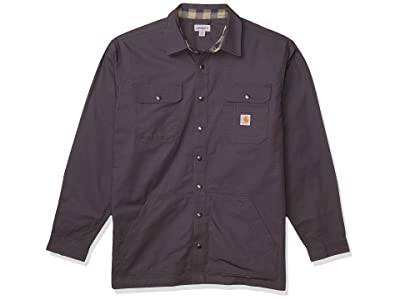 Carhartt Loose Fit Ripstop Flannel-lined Snap-front Shirt Jacket