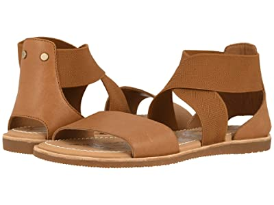 SOREL Ella Sandal (Camel Brown 1) Women