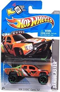 2012 Hot Wheels HW Code Cars 12 Sandblaster 2/22 227/247 Scan & track